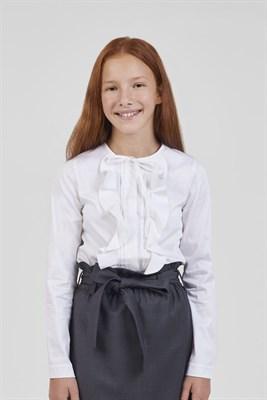 Блуза с рюшами - фото 8756