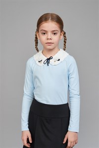 Блуза комбинированная