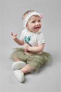 Боди с коротким рукавом для девочки